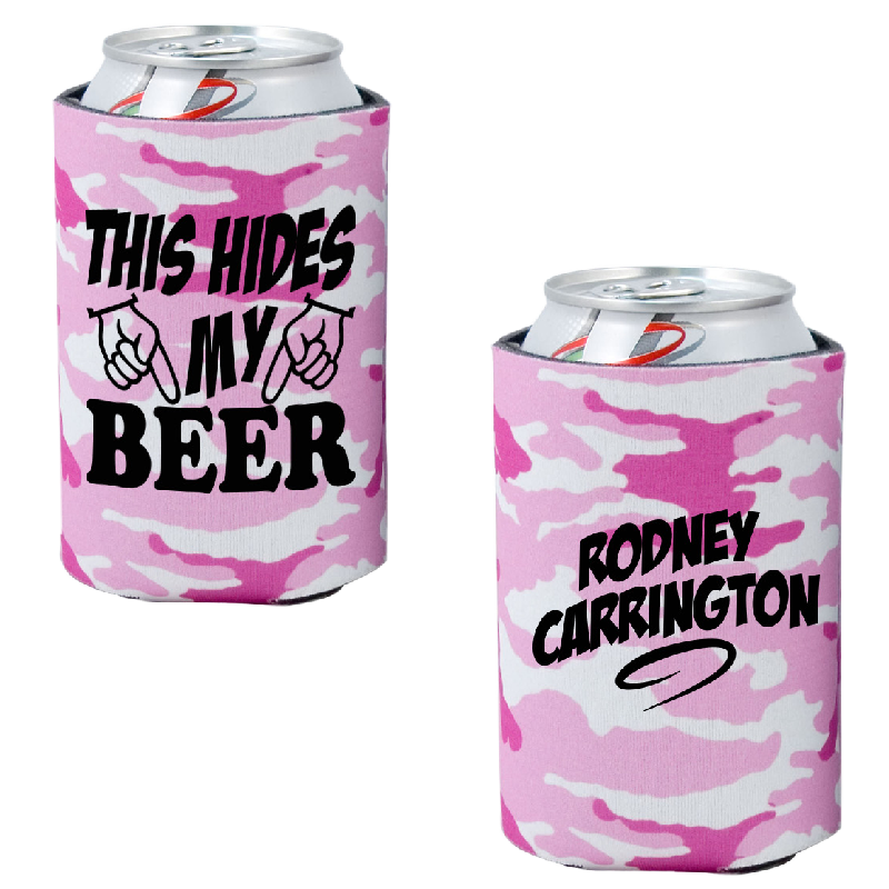 Rodney Carrington Pink Camo Pocket Coolie