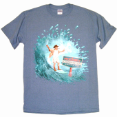 Rodney Carrington Heather Indigo Blue Tee