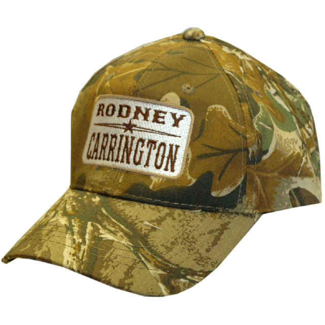 Rodney Carrington Camo Ballcap with Patch