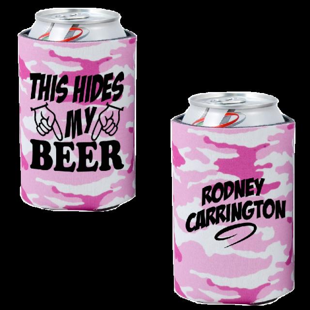 Rodney Carrington Pink Camo Pocket Coolie