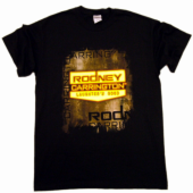 Rodney Carrington Black Tee- Logo