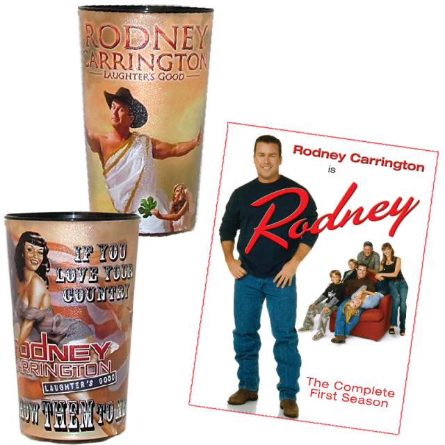 Rodney Carrington Drink and Laugh Bundle!