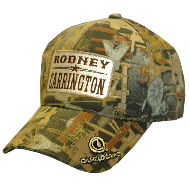 Rodney Carrington Oilfield Camo Ballcap