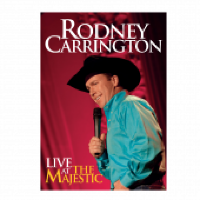 Rodney Carrington DVD- Live at the Majestic