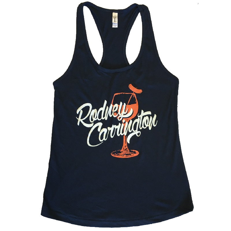 Rodney Carrington Midnight Navy Racerback Tank
