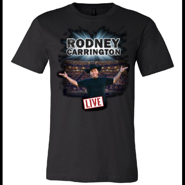 Rodney Carrington 2019 Black LIVE Tee