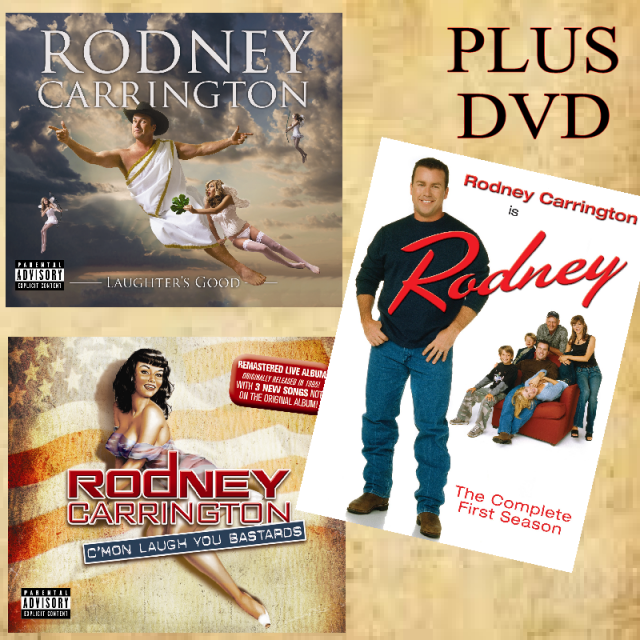 Rodney Carrington Laughter Media Bundle
