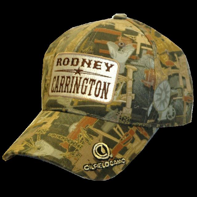 Rodney Carrington Oilfield Camo Ballcap