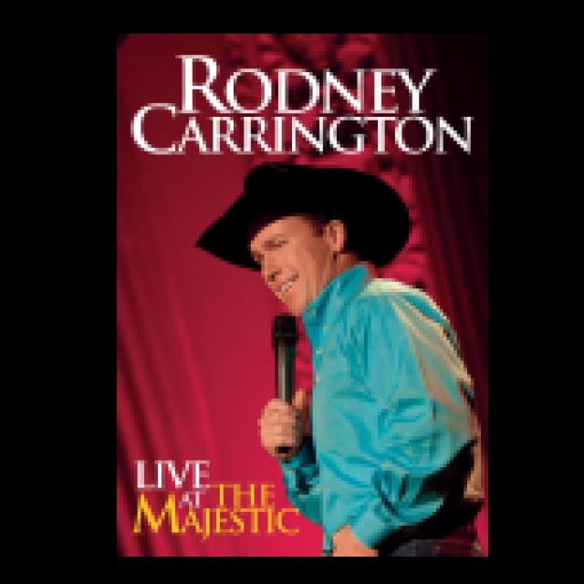 Rodney Carrington DVD- Live at the Majestic