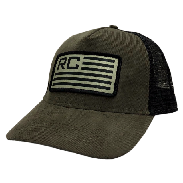 Rodney Carrington Olive and Black Ballcap