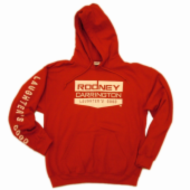 Rodney Carrington Cherry Red Hoodie